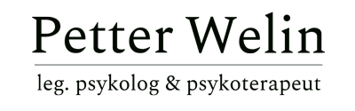 Petter Welin - leg. psykolog & psykoterapeut i Göteborg